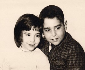 Karen and Kenny. This picture is dated 1963.